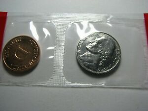 1998-D-Jefferson-Nickel-lt-gt-BU-Nickel-in-the-Original-Mint-Cello