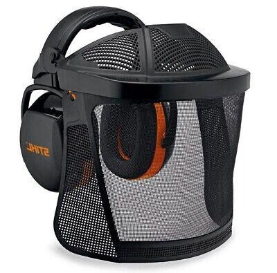 1 X Gesichtsschutz Mit Voll Netz Visier Schutz Für Motorsense Freischneider