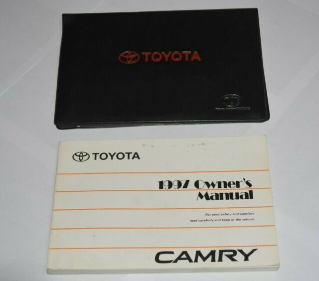 1997 Toyota Camry Owners Manual Guide Book Set Oem