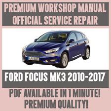 official workshop manual service repair for ford focus mk3 2010 rh ebay co uk ford focus mk3 workshop manual ford focus mk3 repair manual pdf