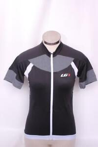 New Louis Garneau Women/'s Icefit Jersey Cycling Bike Medium Black Short Sleeve