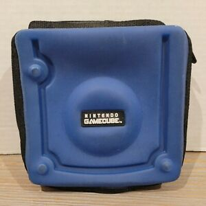 Officially Licensed Nintendo Gamecube Game Disc Holder Trave Carry Case Blue