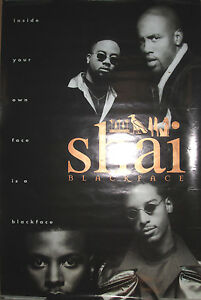 SHAI-034-Blackface-034-promotional-poster-1995-24x36-VG-R-amp-B