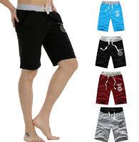 NEW  Men's Cotton Shorts Pants Gym Trousers Sport Jogging Trousers Casual