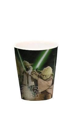 Krieg der Sterne 3D Trinkbecher Star Wars Yoda Jedi Ritter Becher Mehrfarbig