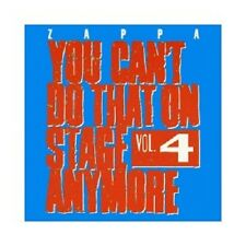 FRANK ZAPPA - YOU CAN'T DO THAT ON STAGE ANYMORE,VOL.4  (2 CD)  ROCK & POP  NEU