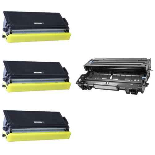 1 DR400 Drum For Brother HL-1030 1230 1240 1250 DCP-1200 MFC-1260 3 TN460 Toner