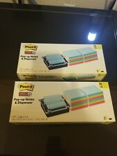 Post It Note Dispenser Sticky Post It Pop Up Notes Miami Colors Lot Of 2