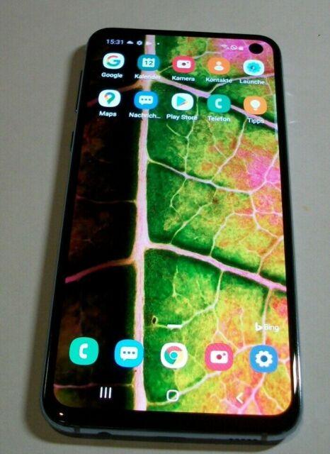 Samsung Galaxy s10e sm-g970f - 128 Go-Prism Blue (Sans Simlock) (Dual-Sim)