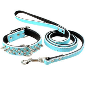 ec8fe5b172f Dog Leash and Collar Set Choker Necklace for Puppy Pitbull Dachshund ...
