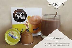 nescafe dolce gusto nestle nesquik chocolat 6 48. Black Bedroom Furniture Sets. Home Design Ideas