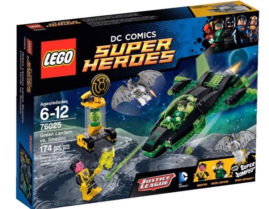 Lego Dc súper Heroes 76025 verde Lantern Vs Sinestro SPACE BATMAN MINIFIGURA NISB