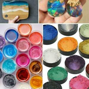 Epoxy Resin Metallic Pearl Pigment Powders Mixed Colours for Floors Worktops