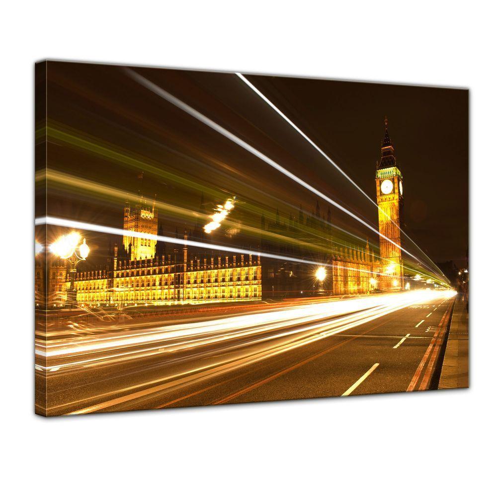 Très, at la surprise vous attend Toile-Big Ben at Très, night-Londres UK 51a79d
