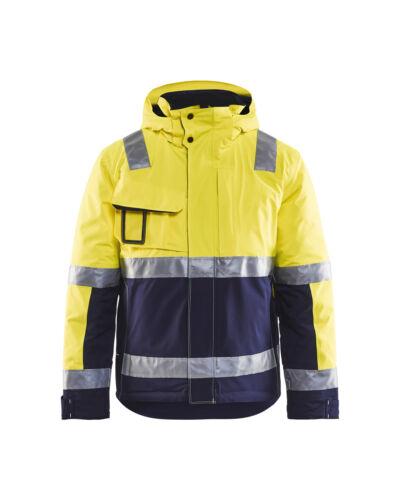 zwart geel geel Blauw Oranje High Blaklader 4870 marineblauw Winterjas Vis marine x8zfqAn