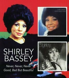 Shirley-Bassey-Never-Never-Never-Good-Bad-But-Beautiful-2005-2CD-NEW