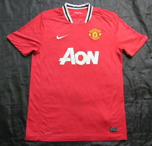 f36bb264342 Image is loading MANCHESTER-UNITED-home-shirt-jersey-NIKE-2011-12-