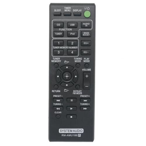 RM-AMU186 Remote Control for Sony Music System MHC-EC919iP HCD-EC919iP