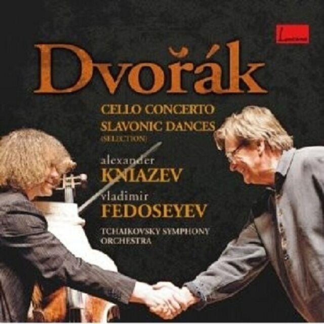 KNIAZEV/FEDOSEYEV - CELLO CONCERTO/SLAVONIC DANCES  CD KLASSIK NEU DVORAK