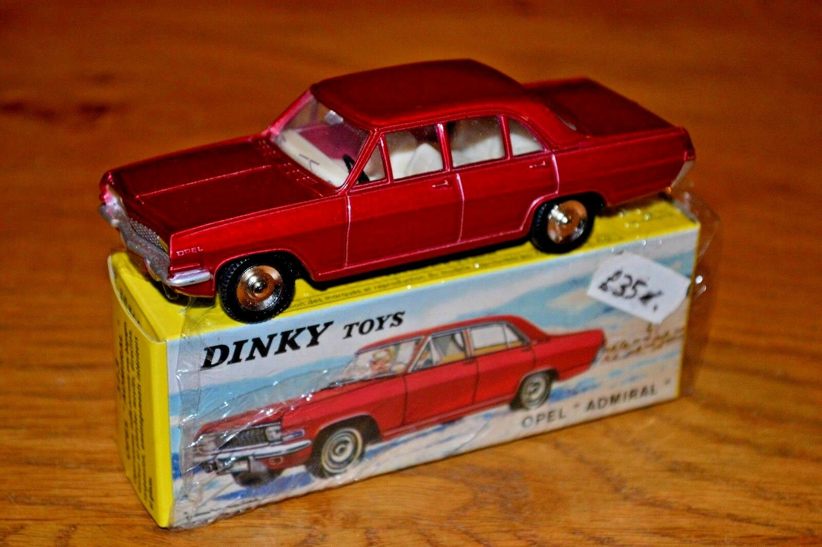 2015 French DINKY TOYS ATLAS EDITION DIECAST No. 513 opel admiral