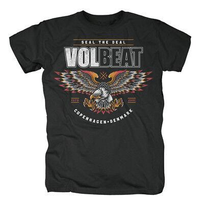 Kleidung & Accessoires Volbeat Victorious Black T-shirt Gut FüR Energie Und Die Milz