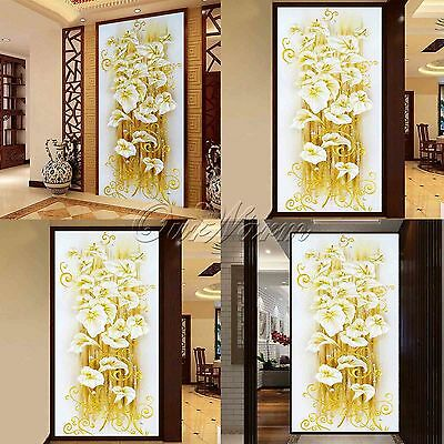 5D Diamond Painting Square Lily Flower 3D Cross Stitch Embroidery DIY Home Decor