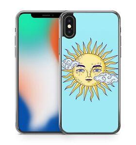 Spectacular Stunning Sun Face Celestial Clouds Cool Amazing Soft Gel Phone Case Ebay