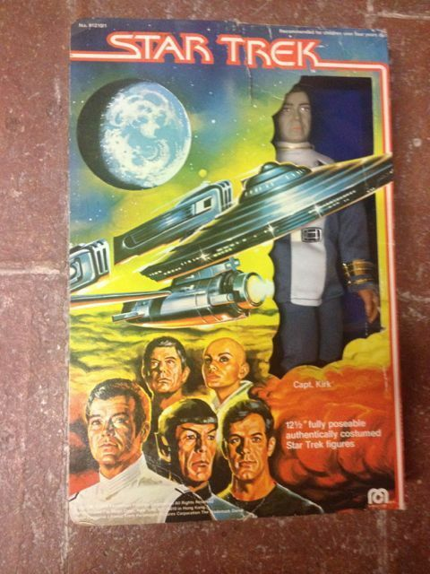 Vintage Mego Captain KIRK 12  in Original Box Estrella TREK