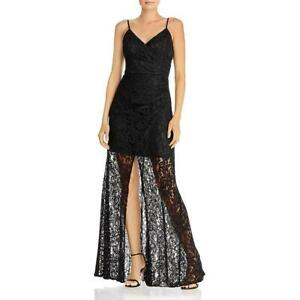 Laundry by Shelli Segal Womens Lace Gathered Formal Evening Dress Gown BHFO 2160