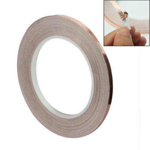 New Arrival 5mm x30M Copper Foil Conductive Tape EMI Shielding Adhesive Bar thy