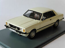 FORD TAUNUS 2.3 S TC2 WHITE NEO 45136 1/43 WEISS BIANCA BLANCHE LHD LEFT HAND