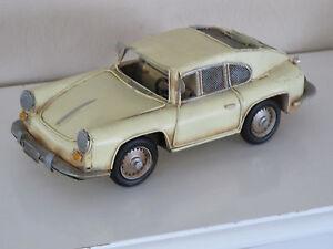 Vintage Look Porsche 356 Shabby Intelligent Retro Blechauto Um Das KöRpergewicht Zu Reduzieren Und Das Leben Zu VerläNgern