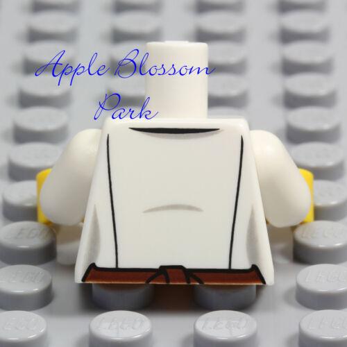 NEW Lego Barista MINIFIG TORSO Male//Female Boy//Girl White Shirt Coffee Cup Apron