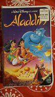 Aladdin. Vhs. Disney. Black Diamond Classic. Brand New/sealed. Free Ship. Rare