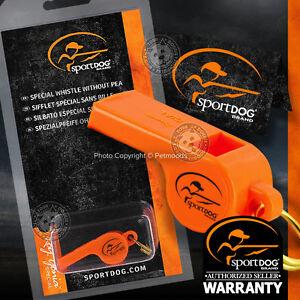 SportDOG-SAC00-11750-Original-ROY-GONIA-034-Special-034-Orange-Whistle-Without-Pea