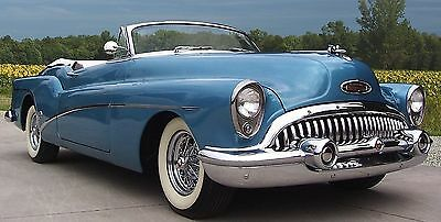 1950s Buick Sport Car Vintage Dream Built Grill 1 24 Metal Body Model Concept