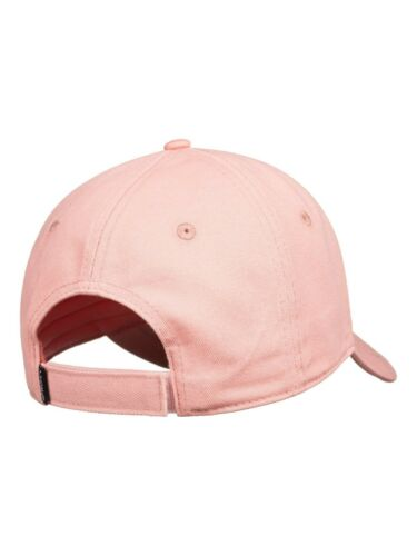 ROXY WOMENS BASEBALL CAP.NEW EXTRA INNINGS ADJUSTABLE PINK COTTON HAT S20 77