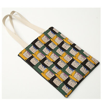 Korea POINT Horse Tote Shopping Shoulder Messenger Bag Handbag Polyester Fashion