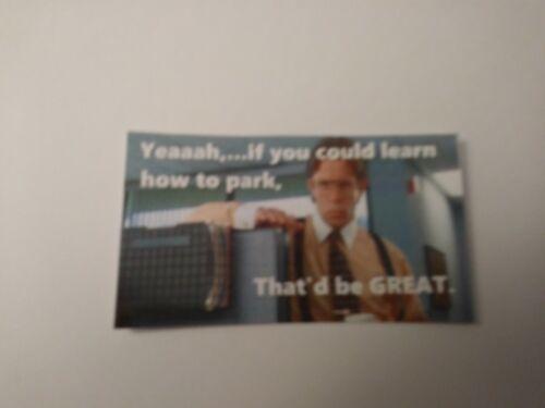 Yeaaah Parking Ticket Cards Joke Gag Gift-Set of 25