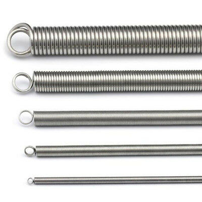 no logo Springs 10PCS 304 Stainless Steel Dual Hook Small Tension Spring Hardware Accessories Wire Dia 0.4mm Outer Dia 3mm Length 10-50mm Accessories /& Parts Size : 0.4 x 3 x 10mm