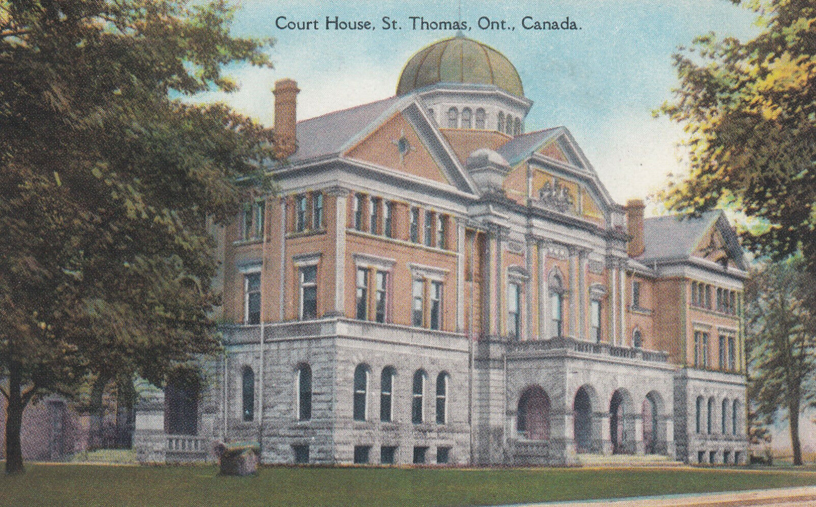 ST THOMAS , Ontario , 00-10s ; Court House #2