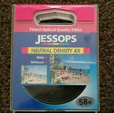 Jessops Neutral density 4x filter. 58mm