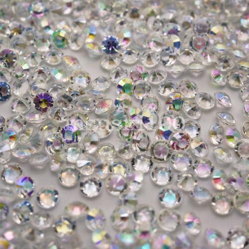 Mesa De Navidad Decoración Diamante Confeti 4.5mm Cena Fiesta Navidad Vajilla