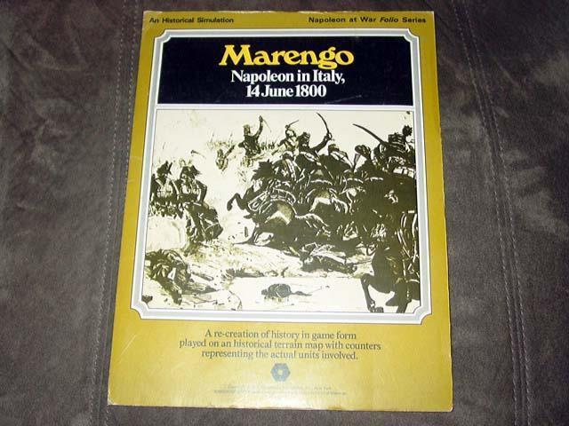 Spi (1975) - marengo - napoleon in italien - napoleon krieg - 14. juni 1800 (wortspiel)