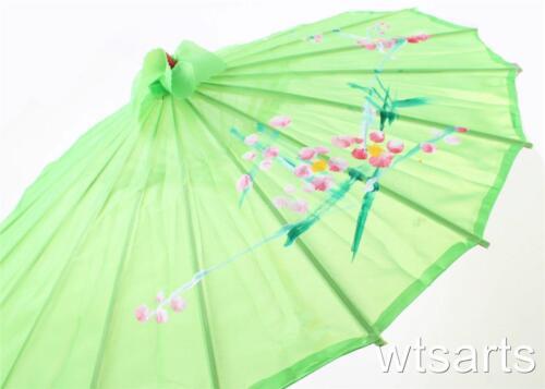 GIAPPONESE FLOREALE PARASOL GEISHA Umbrella CINESE 80 cm di diametro FANCY DRESS