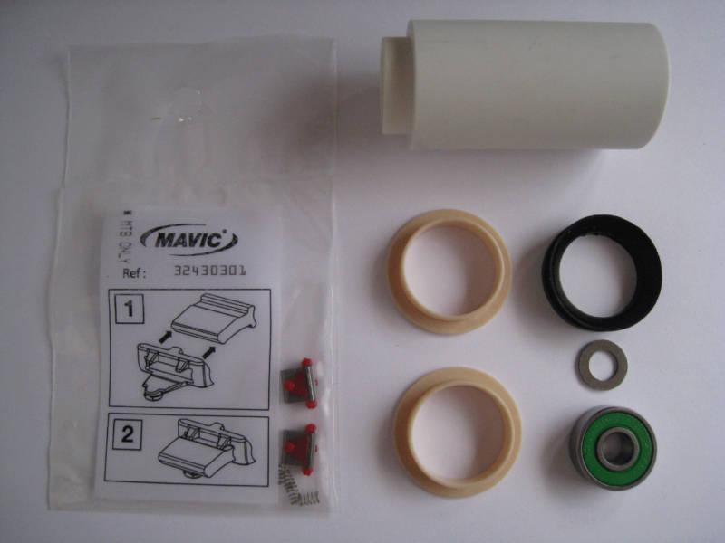 2 QTY. MAVIC FREEHUB OS .003 BUSHINGS + PAWLS KIT REBUILD KIT