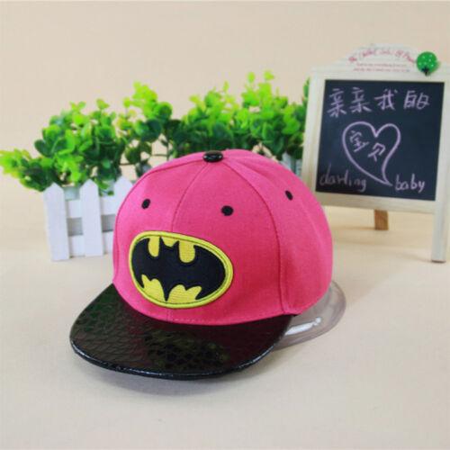 Kids Boys Girls Mickey Minnie Mouse Baseball Cap Hip Hop Snapback Adjustable Hat