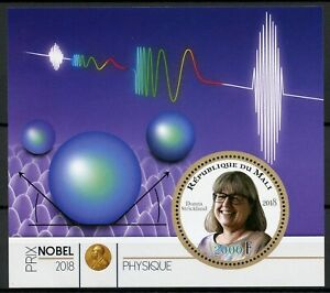 Mali-2018-MNH-Nobel-Prize-Winners-Physics-Donna-Strickland-1v-M-S-Science-Stamps
