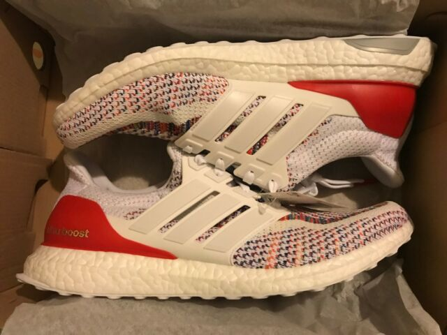 reputable site 0333c 874cd adidas Ultra Boost M Multi Color 2.0 Size Red White Multicolor BB3911  Ultraboost 12