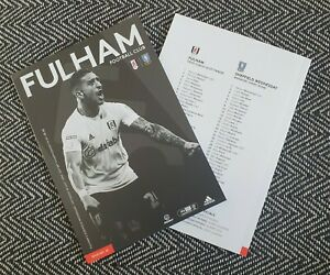 Fulham-v-Sheffield-Wednesday-LIMITED-Programme-18-7-2020-READY-TO-DISPATCH